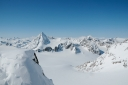 Schrankogel vom Gipfelgrat der Ruderhofspitze