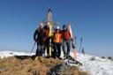 Gipfelfoto auf der Aleitenspitze - Kelchsau