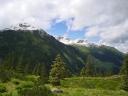 leicht angezuckerte Gipfel in der Wildschönau
