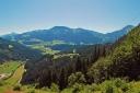 Ein herrlicher Blick eröffnet sich einem oberhalb der Franzl-Alm