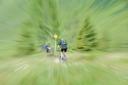 zu schnell am Trail vom Stangenjoch