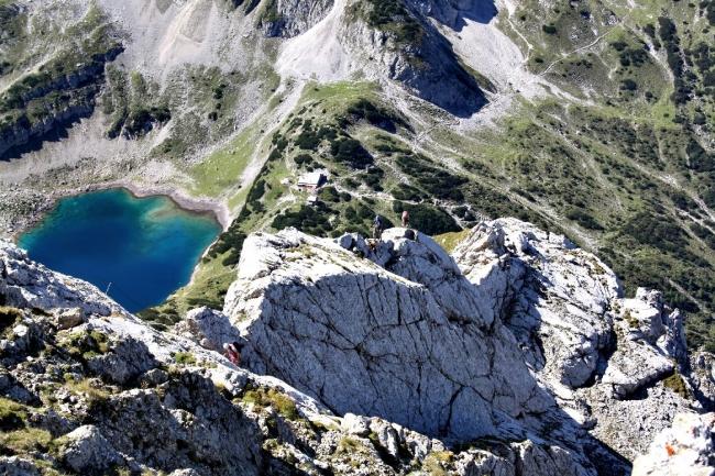 Klettersteig Tajakante : Tourenwelt archiv tajakante klettersteig auf den