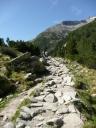 Trail vom Pfitscher Joch zum Schlegeisspeicher