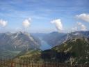 Tiefblick zum Achensee