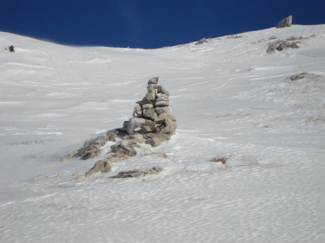 Stoamandl aufn weg zur Pyramiedenspitz