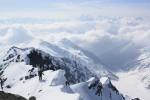Gipfelgrad mit Ortler im Hintergrund