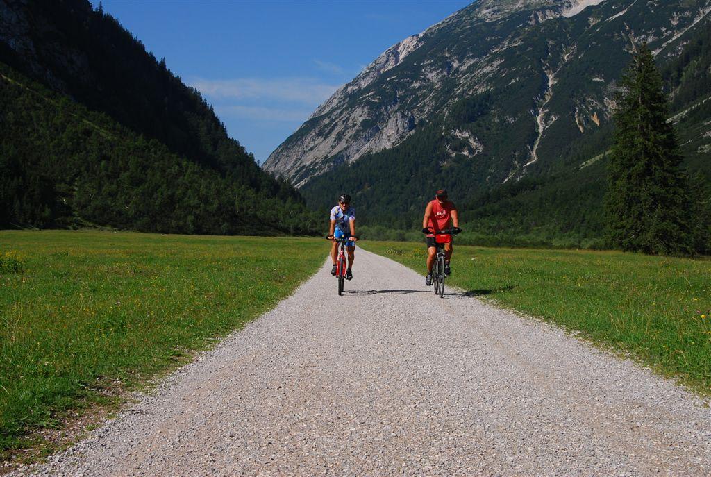 Im Karwendeltal kurz vor der Larchetalm