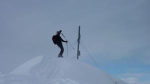 Stürmischer Gipfel