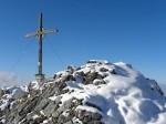 Gipfelkreuz der Naunspitze