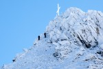 ... wir sparten uns den Aufstieg zum Gipfelkreuz