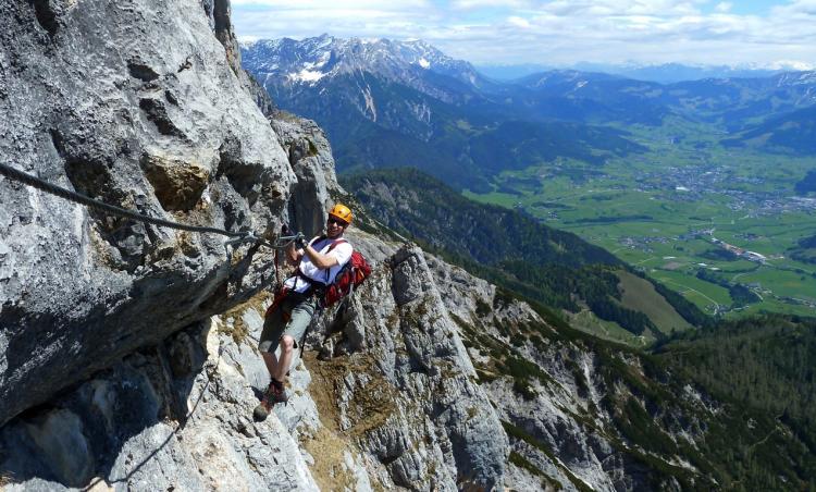 Klettersteig Zauchensee : Tourenwelt archiv klettersteige leogang u passauer