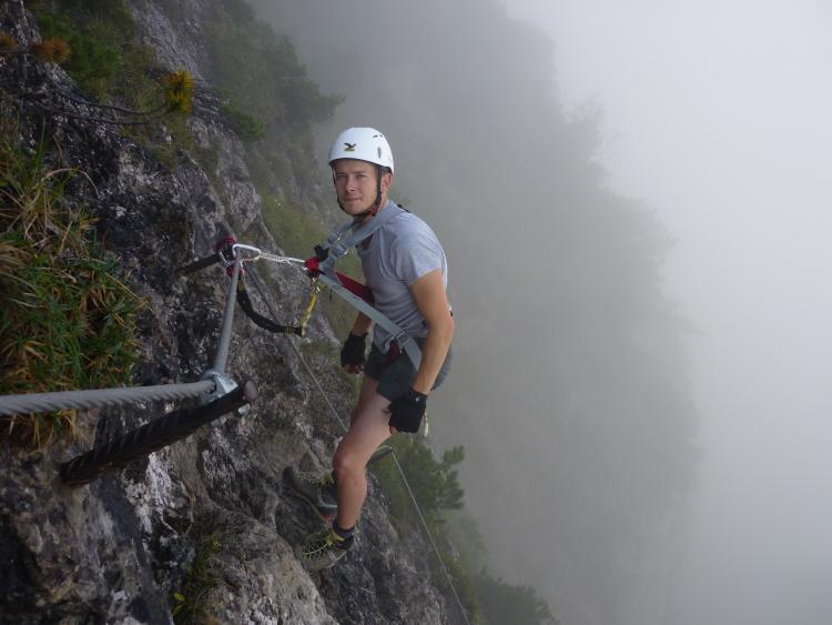 Klettersteig Walchsee : Tourenwelt archiv klettersteig bergkameraden walchsee