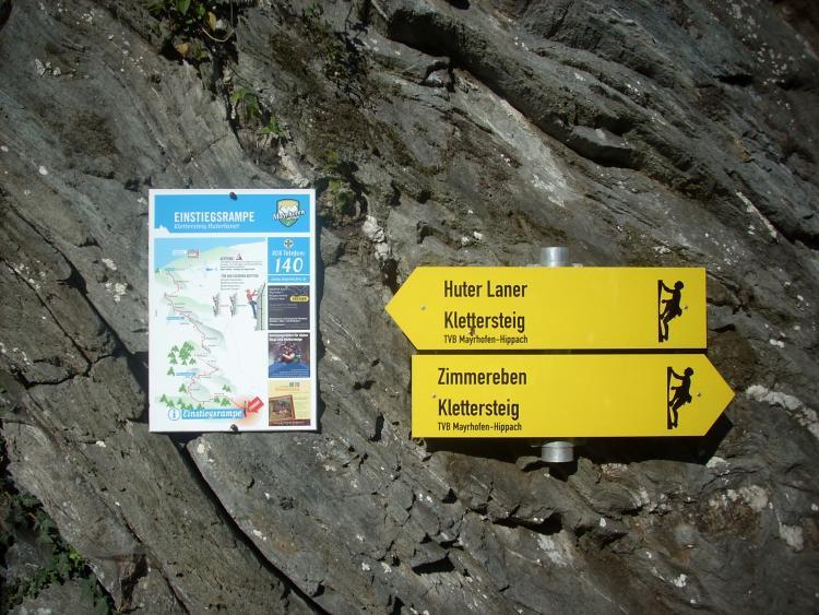 Klettersteig Zimmereben : Klettersteig zimmereben tourendatenbank