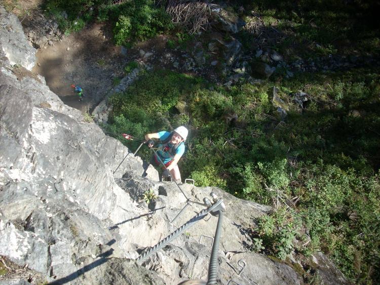 Klettersteig Zillertal : Zimmereben klettersteig bergsteigen