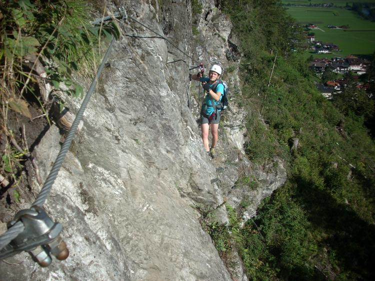 Klettersteig Zillertal : Klettersteig kurse im zillertal