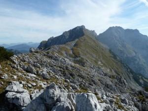 Schade, nach 3 Stunden Kletterei ist dann schon der Wiesberg und Kopfkrax`n vor uns.