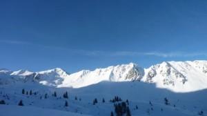 perfekter Skitourentag