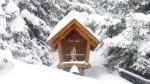 verschneiter Bildstock