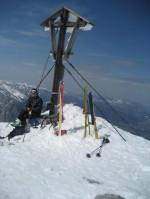 Am Kahlersberg Gipfel