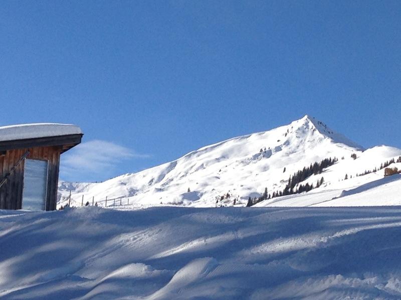 Blick vom Skigebiet Kelchsau zum Feldalphorn