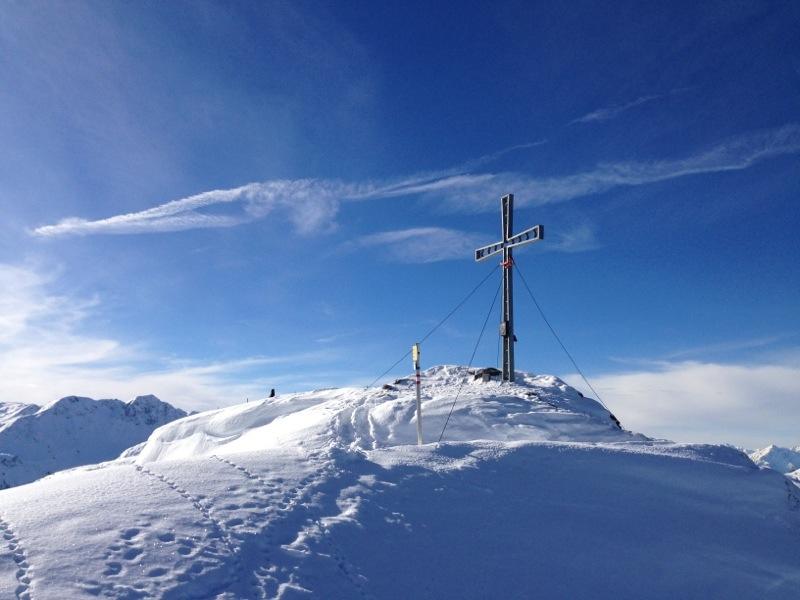 Gipelkreuz am Feldalphorn, 1.923m