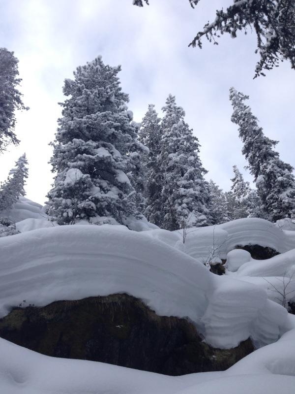 viel Schnee in der Wildschönau am gr. Beil