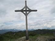 Gipfelkreuz bei Walleralm