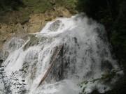 Wasserfall auf den Rückweg über den Wilden Kaiser Steig
