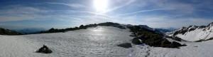 Aufstieg vom mittleren zum oberen Wildalmsee