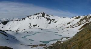 Oberer Wildalmsee auf 2324m