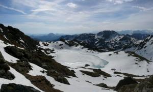 """Oberer Wildalmsee auf 2324m, von der """"richtigen Seite"""""""