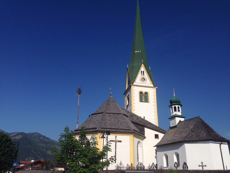 Pfarrkirche in Brandenberg