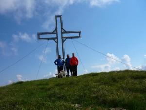 Gipfelfoto am Steinbergstein