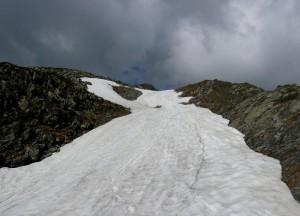 Abstieg Richtung Lagfeldenalm