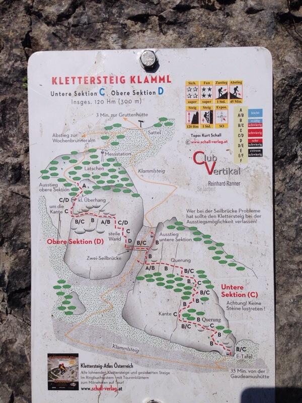 Klamml Klettersteig am Wilden Kaiser