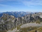 Blick vom Vorderen Sonnwendjoch zum Karwendel