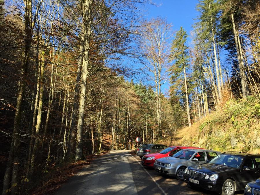 Parkplatz am Erlerberg
