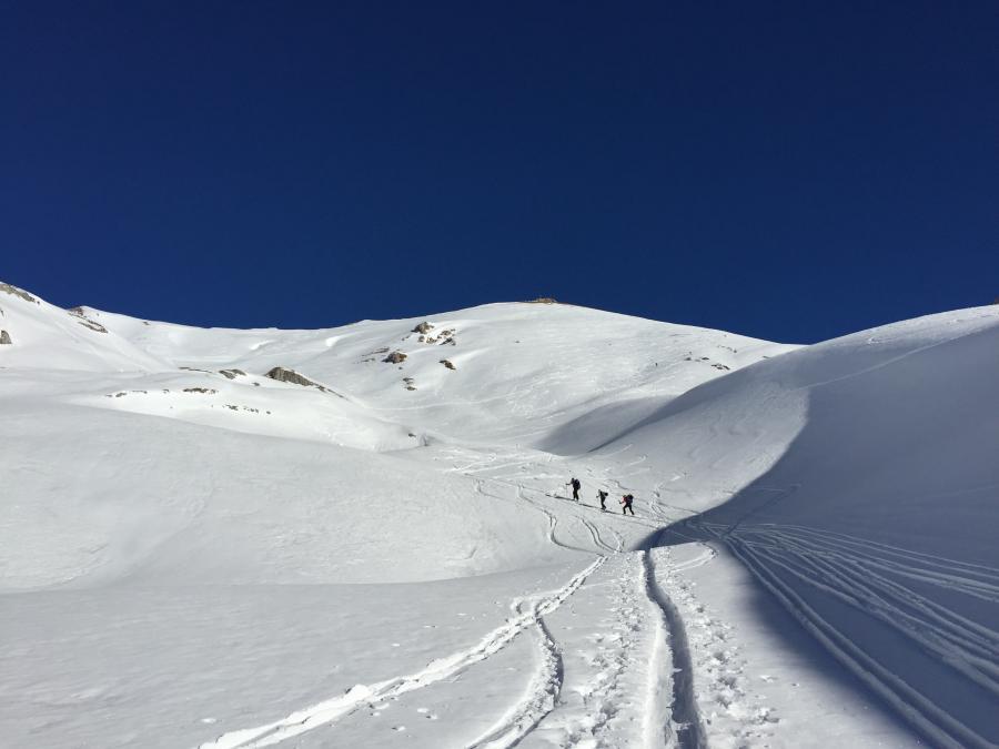 Gipfelanstieg zur Rofanspitze