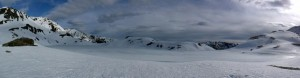 Untere Wildalmsee, auch noch zugefroren