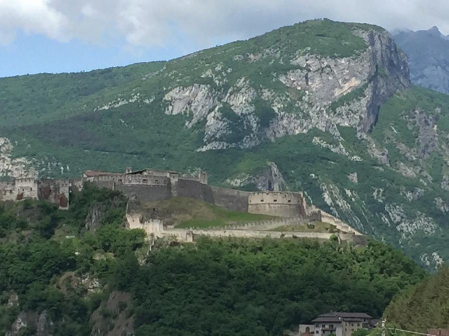 Das beeindruckende Castel Beseno