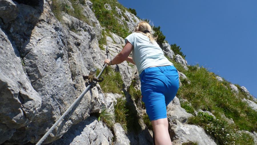 Klettersteig Buchstein : Tourenwelt archiv ross und buchstein