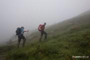 Weit und breit nur Nebel