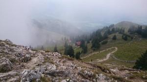 21.Tiefblick vom Gipfel