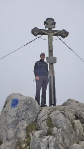 25.Am Gipfelkreuz