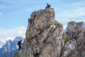 Der Gipfelaufbau der Kleinen Cirspitze