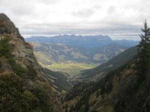 es gibt auch Sonne, Blick auf Brixen