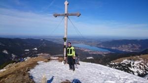 24.Michi am Gipfelkreuz
