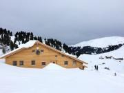 die neu gebaute Bamberger Hütte