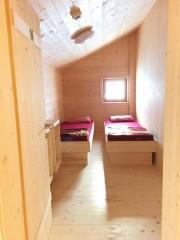 Neues Doppelzimmer auf der Neuen Bamberger Hütte