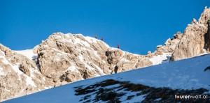 Gipfelgrat im Zoom